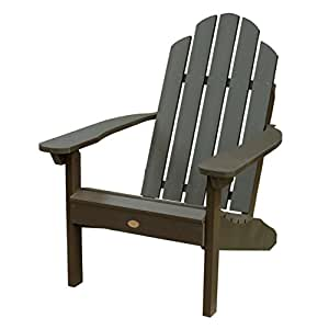 Highwood Classic Westport Adirondack Chair, Mocha