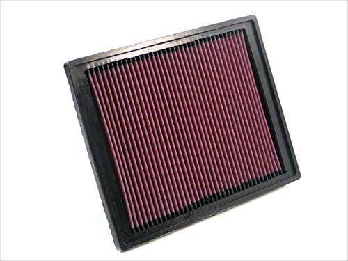 K&N engine air filter, washable and reusable:  2002-2011 Saab/Vauxhall (9-3, 9-3 Series II, Signum) 33-2337