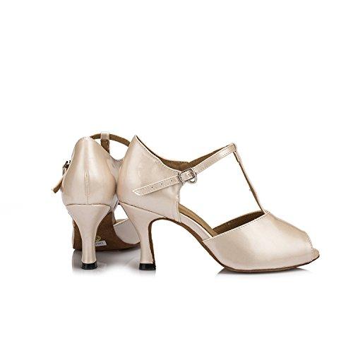 Heel 5cm Ballroom Miyoopark Donna Beige 7 XqSIw