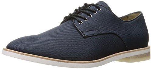 Calvin Klein Men's Aggussie Nylon Oxford, Dark Navy, 7.5 M US