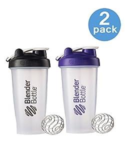 Amazon.com: 28 Oz. Blender Bottle W/wire Shaker Ball- Pack