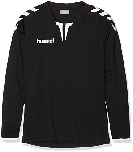 - Hummel Sport Boy Hummel Core Long Sleeve Soccer Jersey, Black/White, Youth Medium