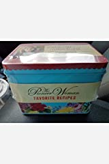 William Morrow Pioneer Woman Ree Drummond Favorite Recipes Tin with 100 Recipies Unbound