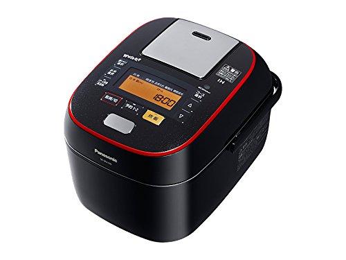 パナソニック Wおどり炊き スチーム&可変圧力IHジャー炊飯器 5.5合 ブラック SR-SPA106-K
