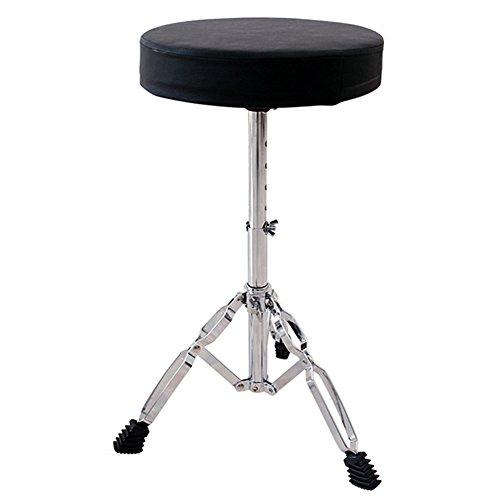 Drum Stool Double Brace Round Top Drum Throne by Asanasi