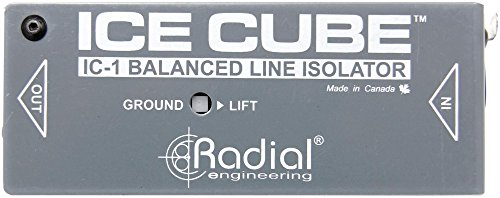 Radial Engineering IceCube IC-1 Balanced Line Isolator and Hum Eliminator (System Audio Integration Processor)