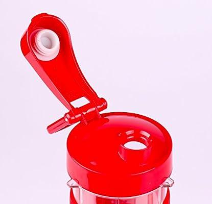 Amazon.com: Licuadora y picadora, Rojo: Kitchen & Dining