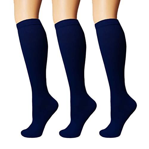 3/5 Pairs Compression Socks Women & Men - Best Medical,Nursing,Hiking,Travel & Flight Socks-Running & -