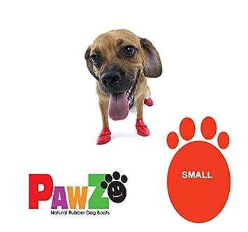 Pawz - 1 par de botines impermeables para perro, de goma natural, en varias tallas: Amazon.es: Deportes y aire libre