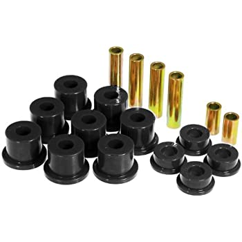 Prothane 6-1013-BL Black Front Spring Eye and Shackle Bushing Kit