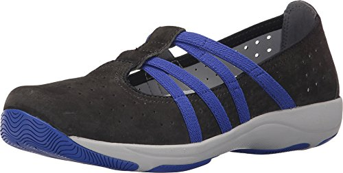 Dansko Women's Hope Fashion Sneaker, Graphite Suede, 40 EU/9.5-10 M US
