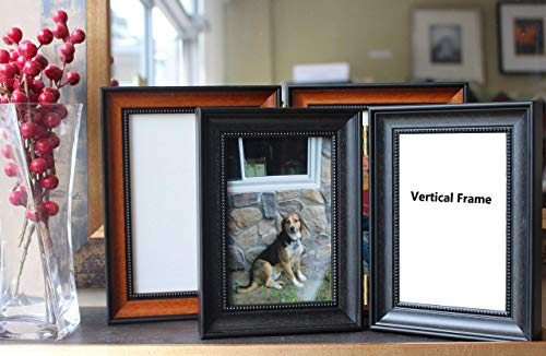 (Custom Contemporary Veneer Folding Hinged Double Picture Photo Frame; Available in Charcoal, Dark Walnut, Light Walnut,)