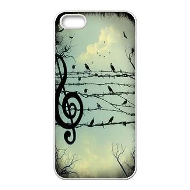 Música personalizada notas para iPhone 5, iPhone 5S, música ...