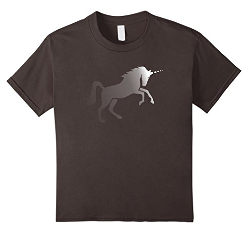 Kids Invisible Pink Unicorn Atheist T-Shirt 4 Asphalt