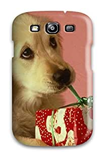 Galaxy S3 Case Bumper Tpu Skin Cover For Christmas Puppy Puppies Accessories
