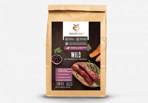 Wildfang® Hundefutter Trocken – Getreidefreies Hundefutter – Wild mit Süsskartoffel & Maulbeere   Ideal für…
