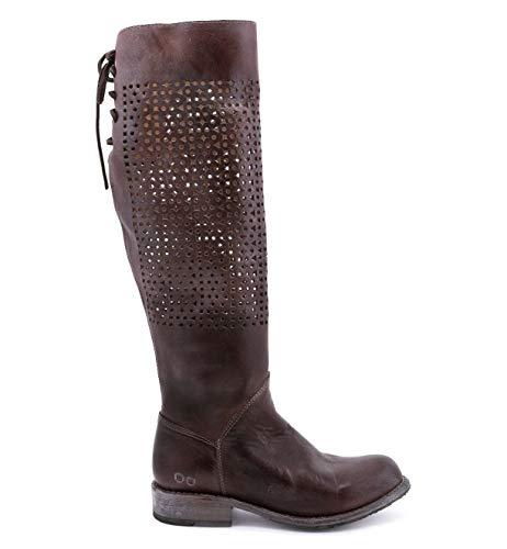 - Bed Stu Women's Cambridge Boot, Teak Rustic/Blue, 8.5 M US