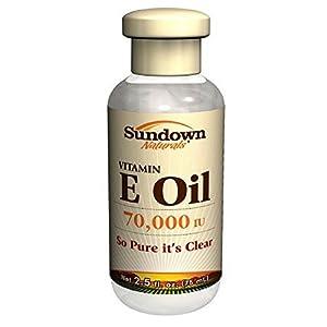 Sundown Naturals Vitamin E Oil -- 70000 IU - 2.5 fl oz - 2pc