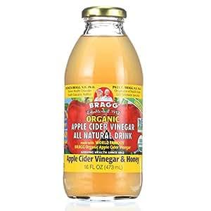 Amazon.com : Bragg Organic ACV/Honey Apple Cider Vinegar