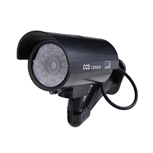 Outdoor Indoor surveillance camera Fake IP Surveillance Security Camera Dummy Night CAM LED Light safe home FC
