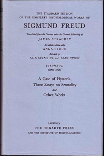 a case of hysteria three essays on sexuality and other works the  a case of hysteria three essays on sexuality and other works the standard edition of the complete psychological works of sigmund freud volume vii
