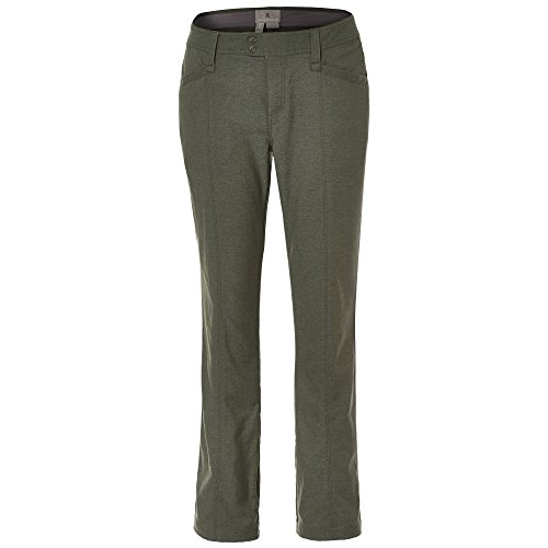 Royal Robbins Women's Herringbone Discovery Strider Pants, Climbing Ivy, 10