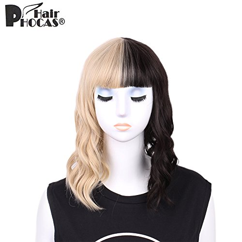 HairPhocas Blonde Synthetic Cosplay Costume