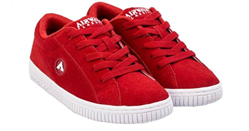 Airwalk Classic One-bling Heren Suede Skate Schoenen Rood