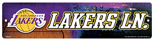 NBA Los Angeles Lakers High-Res Plastic Street (High Signs)