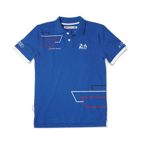 Audi 3131400306 Le Mans Polo para Hombre, Azul, Talla XXL: Amazon ...