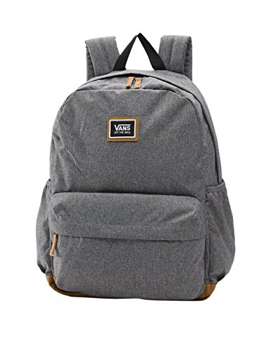 Vans Realm Plus Backpack Mochila Tipo Casual, 44 cm, 27 Liters, Gris (Black Heather): Amazon.es: Equipaje