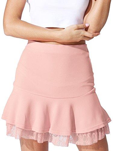 Houndstooth Mini Skirt - 7