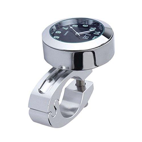Cheap ROSENICE Mount Digital Clock Mini Waterproof Digital Watch 7/8″ Motorbike Bicycle Clock