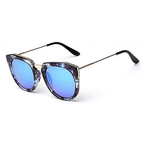 Azul de la Gris Mujeres de Señora UV de Gu Marco Protección Ojos Libre Conducción Lente Color Color Viajar de Flor Peggy de para Sol al Gato Gafas Aire nHOWpYHq