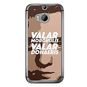 Game of thrones HTC One M8 Case - Valar Morghulis