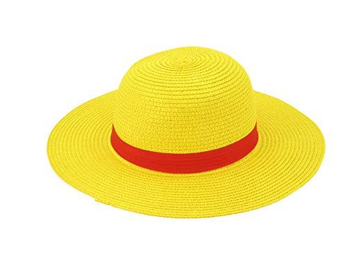 Yarizm Straw Hat Cosplay Costume (Yellow) (One Piece Straw Hat Chase English Dub)