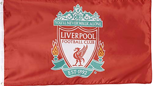 Anfield Shop Liverpool FC Crest Flag