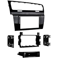 Metra 99-9013HG Single/Double DIN Dash Kit for 2015 - Volkswagen Golf (High Gloss Black)