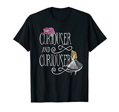 Disney Alice in Wonderland Curiouser T Shirt -