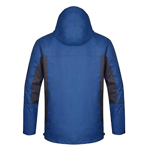 Jacket 1 Outdoor Windproof 3 Winter In Jacket Blue Warm Waterproof And Climbing fvwZqg