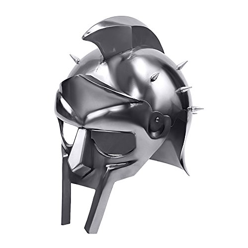 Gladiator Costume Maximus (Gladiator Roman Maximus Style Helmet Armor with Spikes)