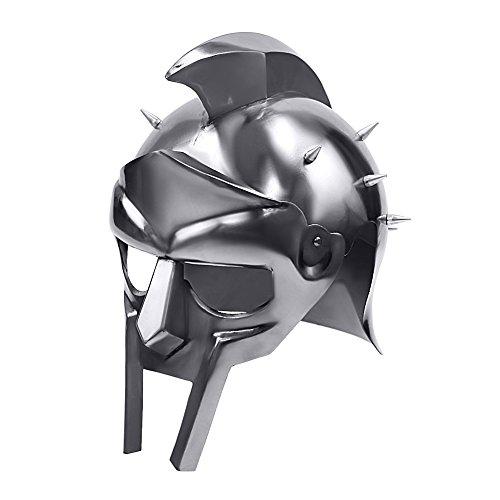 Movie Gladiator Mask (Gladiator Roman Maximus Style Helmet Armor with)