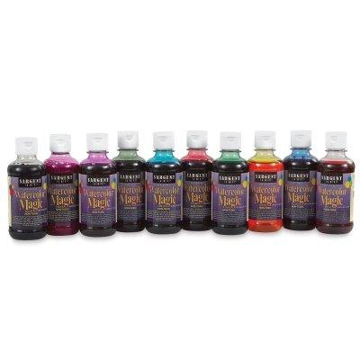 Sargent Art 22-6010 10-Count 8-Ounce Watercolor Magic Set (Magic Liquid)