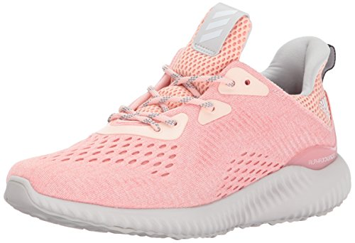 adidas Performance Women's Alphabounce Em w Running Shoe, Ice Pink/Trace Pink/Grey One, 5 Medium US by adidas