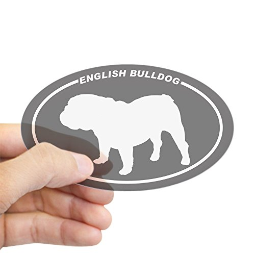 CafePress English Bulldog Silhouette Sticker