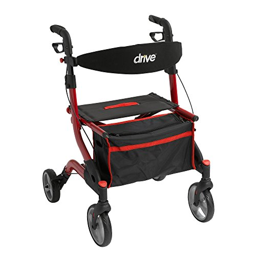 Drive Medical rtl10555rd I-Walker Euro Style Rollator, - Euro Discount Store