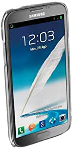 Cellular Line Crystal - Funda para Samsung Galaxy Note 2, transparente