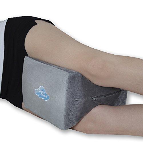 Cushy Cloud Orthopedic Memory Foam Knee Pillow Perfect