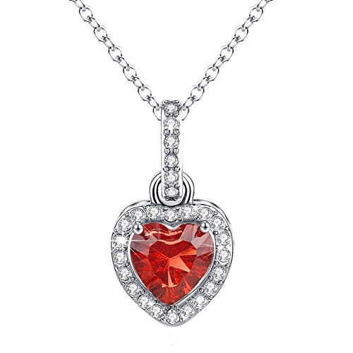 Heart-Necklace-Halo-Diamond-Pendant-Birthstone-Jewelry-for-Her-Love-Necklace-Christmas-Gift-Women