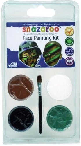 Snazaroo Face Paint Camouflage Mini Kit ()